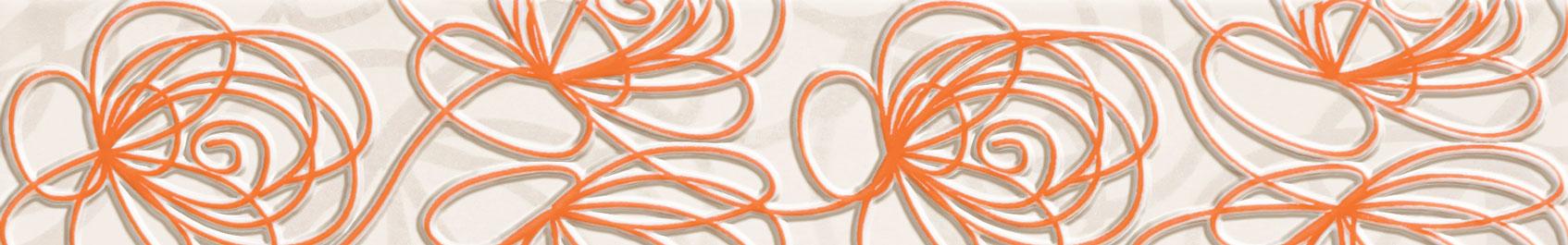 Wave Modern orange