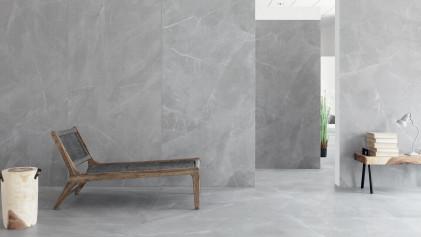 Напольная плитка в серых тонах - создайте сдержанный и элегантный вид входной зоны