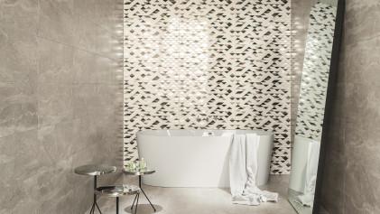 Керамическая плитка под обои. Декоративная керамическая плитка с уникальными принтами.