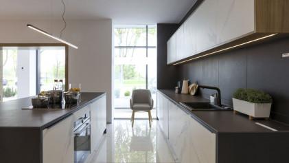 Керамическая плитка - идеальное покрытие для мебели, столешниц и кухонных островов.